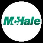 McHale logo, pyöreä
